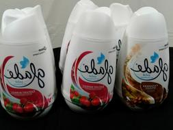 GLADE Solid Air Fresheners 7oz Lot of 6 Radiant Berries, Cas