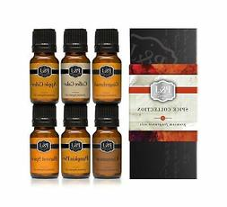 P&J Trading Spice Set of 6 Premium Grade Fragrance Oils - Ci