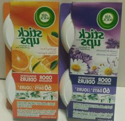 Air Wick Stick Ups Air Fresheners. Citrus and Lavender. Grea
