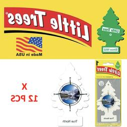 Little Trees True North Freshener air 17146 MADE IN USA Pack