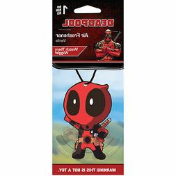 Deadpool Vanilla Scented Air Freshener Red