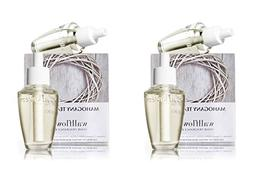Bath and Body Works Wallflowers 4 Bulbs Refills MAHOGANY TEA