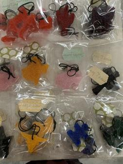 Wholesale Lot 25  Aroma Bead Car Air Freshies